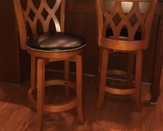 Bar stools (pair)