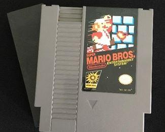 Nintendo game, Super Mario Brothers