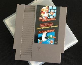 Nintendo game, Super Mario Bros. & Duck Hunt