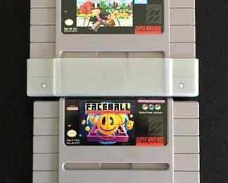 Nintendo games:  Monopoly; Faceball