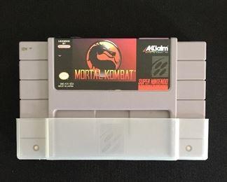Nintendo game:  Mortal Kombat