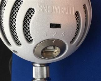 Alternate view of mic
