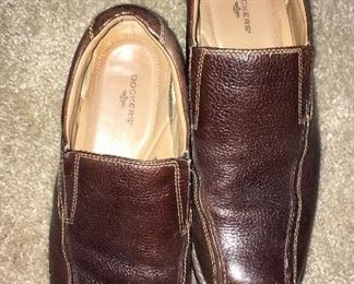 Dockers leather loafers