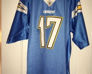 Rivers LA Chargers jersey