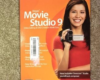 Video editing/DVD creation software