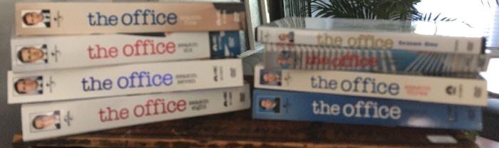 The Office video seasons 1-8