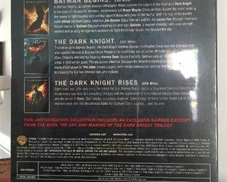 Alternate view of Batman trilogy