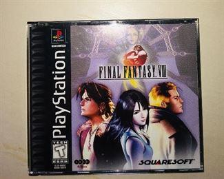 Playstation Final Fantasy VIII