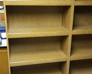 Pair of shelving units....presale available