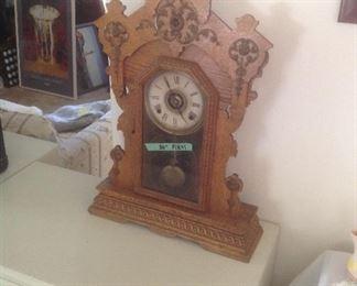 Antique clock....$50