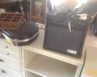 Crate sound system for guitar