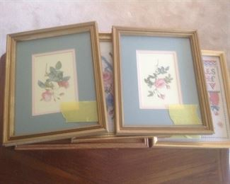 Variety of floral pictures
