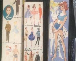 Barbie dolls in original boxes
