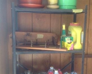 Shelving and outdoor product