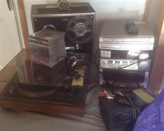 Older music electronics