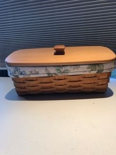 Longaberger basket....many more and a variety