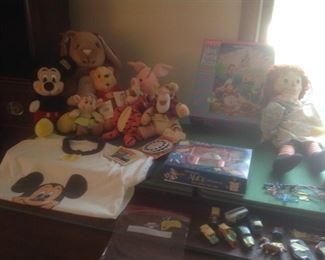 Disney items.