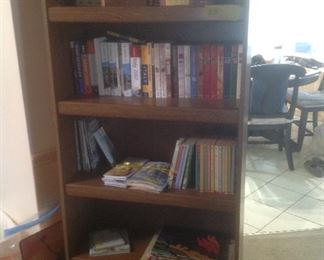 Another bookshelf ($25). Filled with a variety of books
