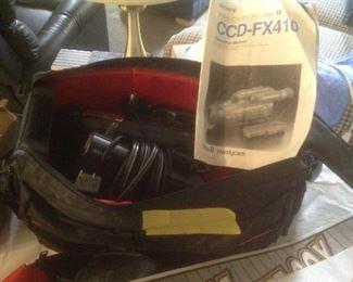 CCD-FX 410 Handy cam