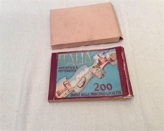 1955 Italian Tourist Souvenir