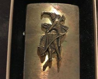 Solid Brass Zippo XI