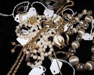 Silver & gold, silver & gold!                                                                         PLEASE NOTE:  FINER JEWELRY IS NEVER LEFT ON PREMISES OVERNIGHT!!