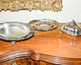 4. Silverplate Dishes