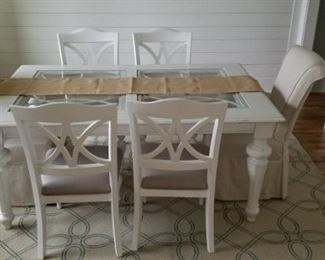 Dining Table and Chairs will be priced separately.