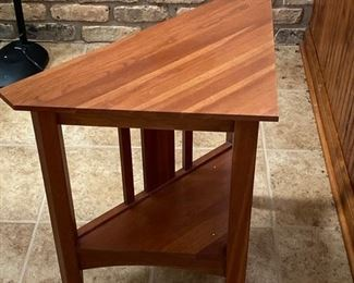 This is a small table by Stickley