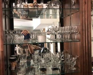 Lots of barware!