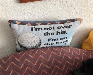 Various pillows