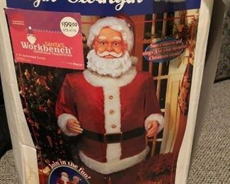 5 foot tall Singin' and Swingin' Santa