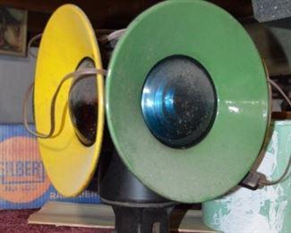 Antique Railroad Signal light/lamp