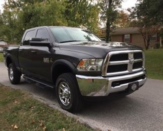 2018 RAM 2500 Tradesman Crew Cab 4x4 Comes with a 5 year/100,000 Mile Powertrain Warranty less than 34,000 miles