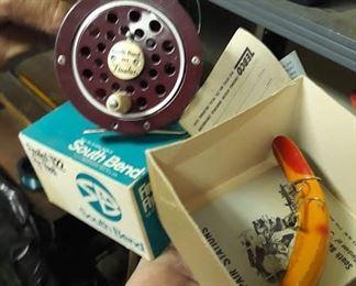 Vintage Fishing Items