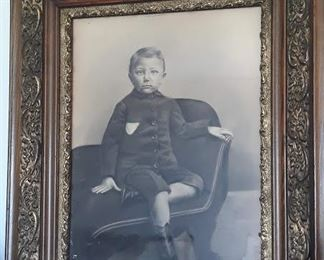 Circa 1800s  Large Framed Picture