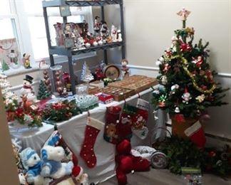 The Christmas Room! Full of vintage Christmas items.