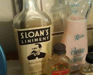Misc. Vintage Glass Bottles