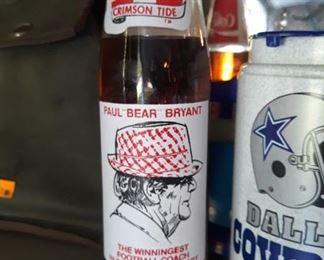 Bear Bryant Pop Bottle
