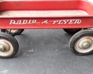 1960's Radio Flyer Wagon