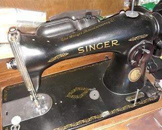 Singer Sewing Machine No. 15
