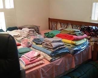 Vintage King Size Bed - part of 5 pc Set