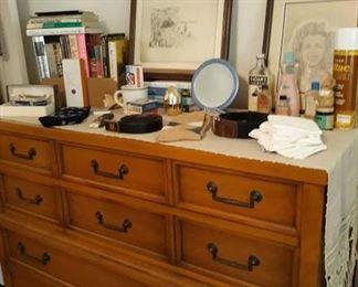 Vintage Tall Dresser - part of 5 pc set