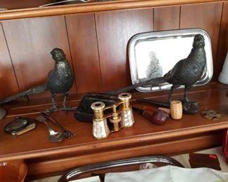 Circa 1800s Birds / Opera Glasses