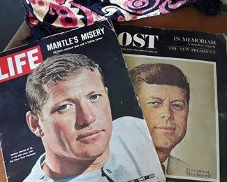 Mickey Mantle Life / Kennedy Post Magazine
