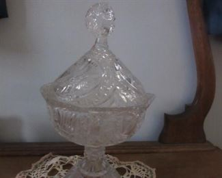 Large collection of Byrd Crystal glass