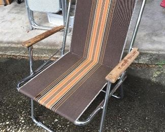 Zip-Dee Vintage Air-Stream Chair