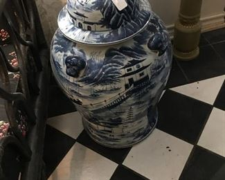 Oriental urn - several of these