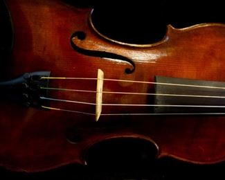 Two full-size and one half-size violins. Silent Auction.