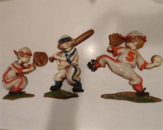 Vintage Baseball Wall Plaques